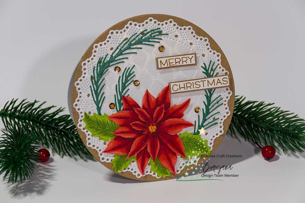 Christmas Craft Creations – Shaped Card