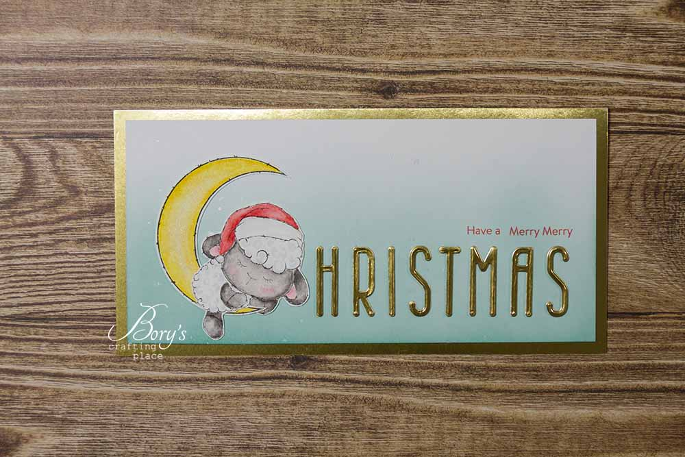 Sassy&Crafty: Christmas Slimline Card